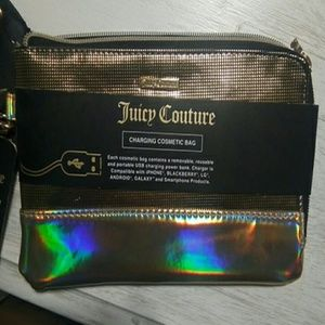 Juicy couture charging beauty bag